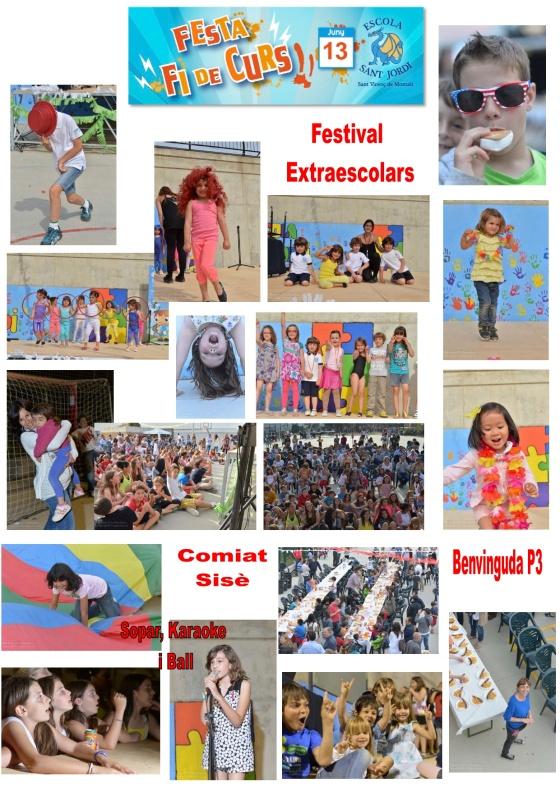 Festa de fi de curs 2014